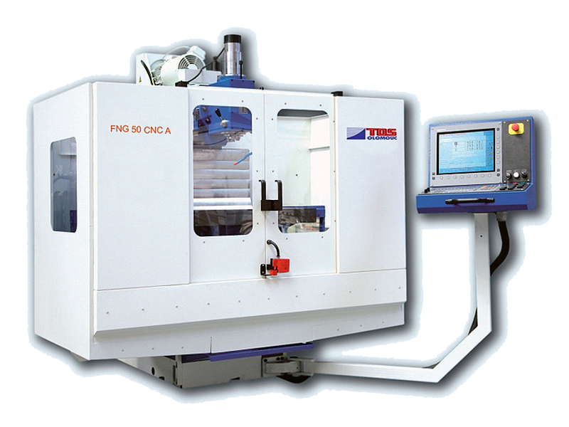 continuously controlled milling machine
