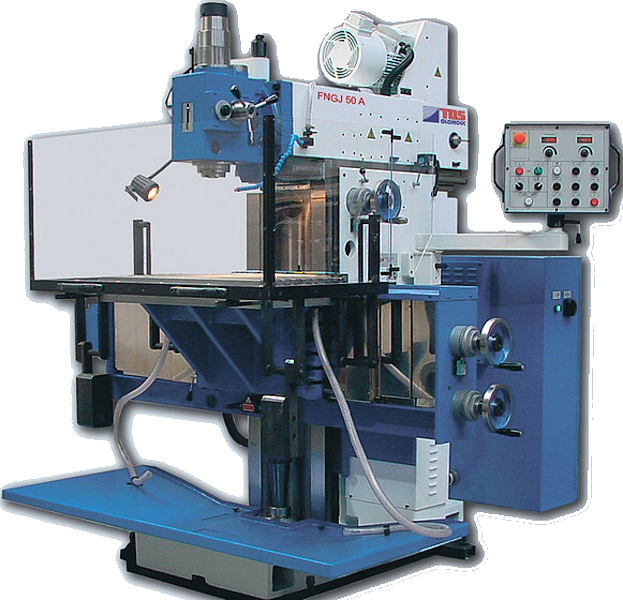 Tool-room milling machine