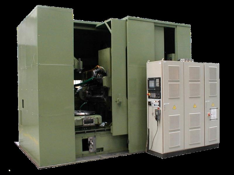 Vertical hobbing machine OFA 100 CNC 6