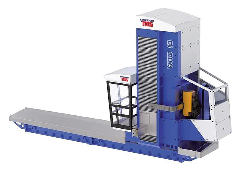 horizontal table-type boring machine WRD
