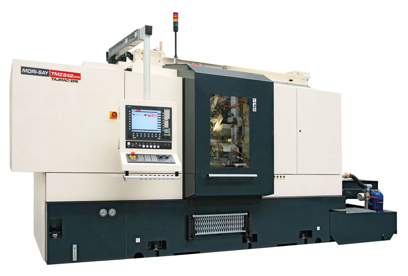 Eight-spindle numerically controlled lathe MORI-SAY TMZ842CNC