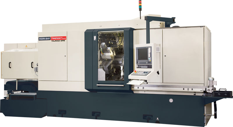 Eight-spindle numerically controlled lathe MORI-SAY TMZ867CNC