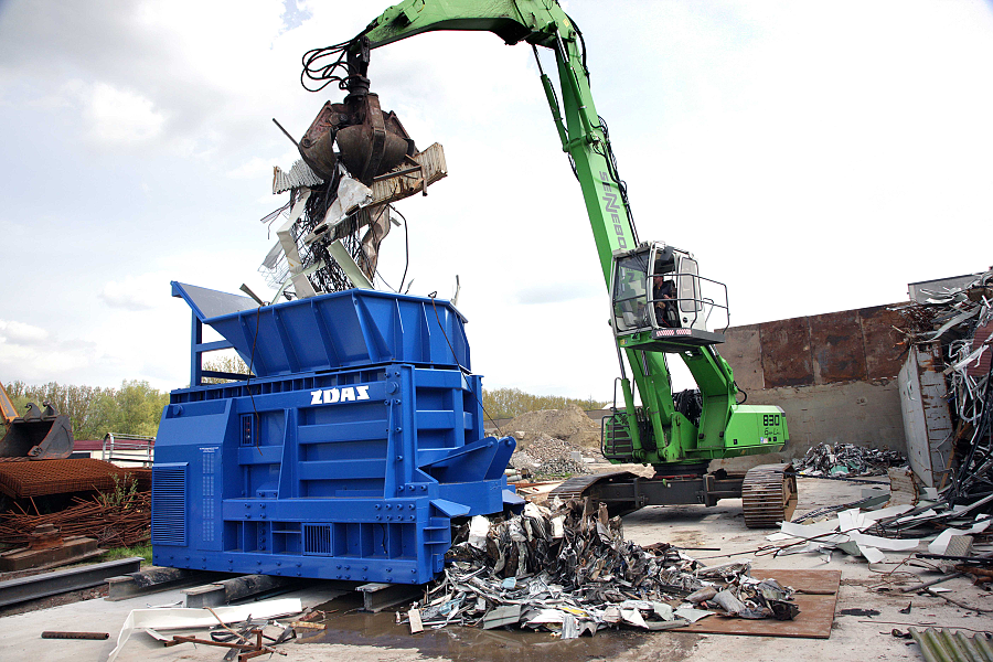 Mobile scrap shears CNS