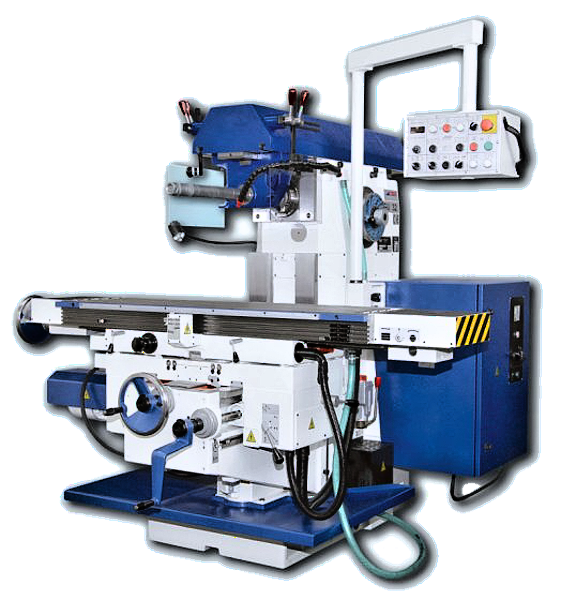 The universal milling machine