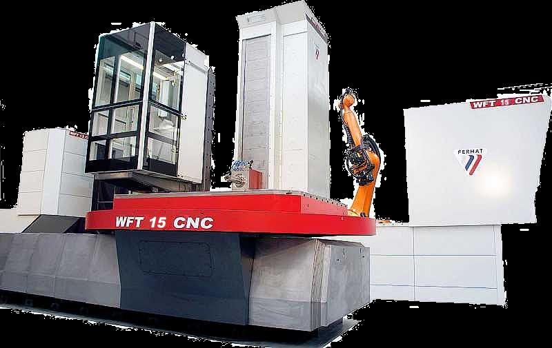 Horizontal boring mill WFT 15 CNC